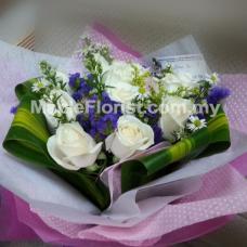 10 roses bouquet
