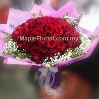 99玫瑰花束