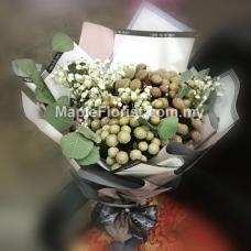 Brunia flowers bouquet