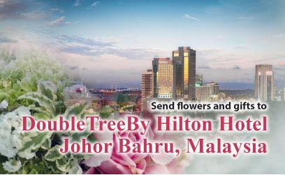 Send flowers and gifts to DoubleTree By Hilton, Johor Bahru