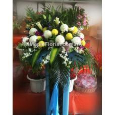 condolences flowers