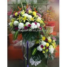 Christian Condolence Wreaths
