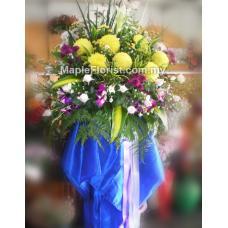 Sympathy flowers 1