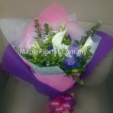 calla lily bouquet (Johor only)