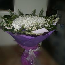 99 lilies bouquet
