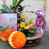 Mooncake gifts basket
